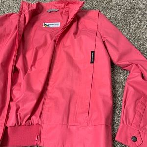 Members Only Europe Craft Pink Jacket Sz 9/10 VTG